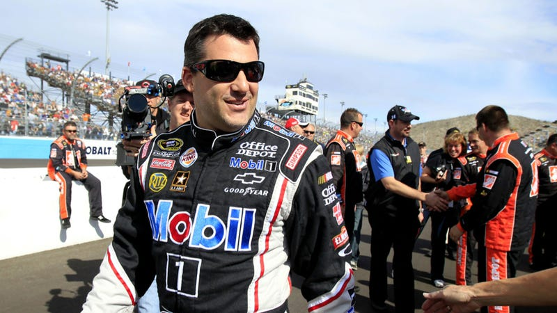 Tony Stewart Breaks Leg At Iowa Dirt Track Race