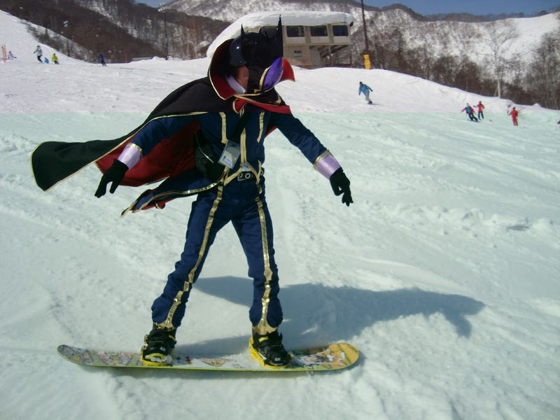 Snowboarding Gets All Nerdy