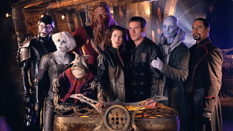 A Farscape movie is in the works