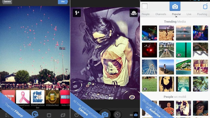Mobli, Flipboard, and More