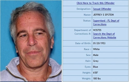 Recently-Freed Sex Offender Jeffrey Epstein May Face Child Trafficking Charges