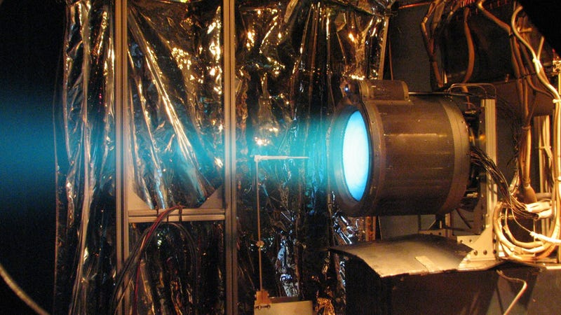 Ion thruster Tested Before Mission To Mercury (m.esa.int)