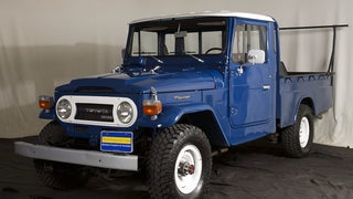 Below Average Cars:  Toyota Land Cruiser HJ45 Pickup