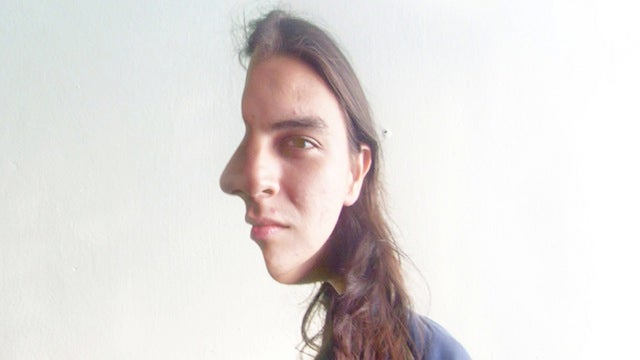 These Pictures of People with Half-Faced Illusions Are Twisting My Brain