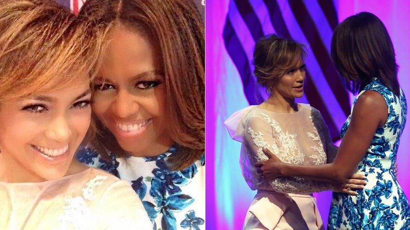 J.Lo Is Just Hangin' With Her Girl FLOTUS
