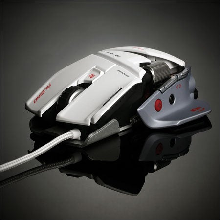 The Cyborg R.A.T. 7 Albino Looks More Like a Mass Effect Battleship Than a Gaming Mouse