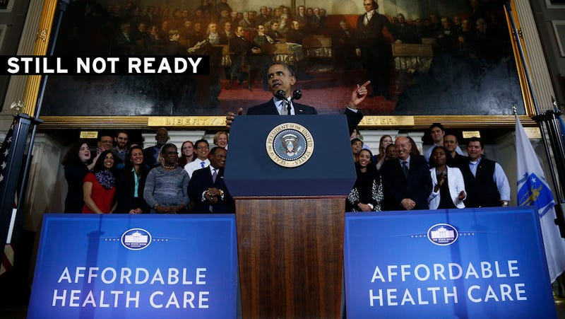 Broken HealthCare.gov Probably Won't Be Fixed by November 30 Deadline