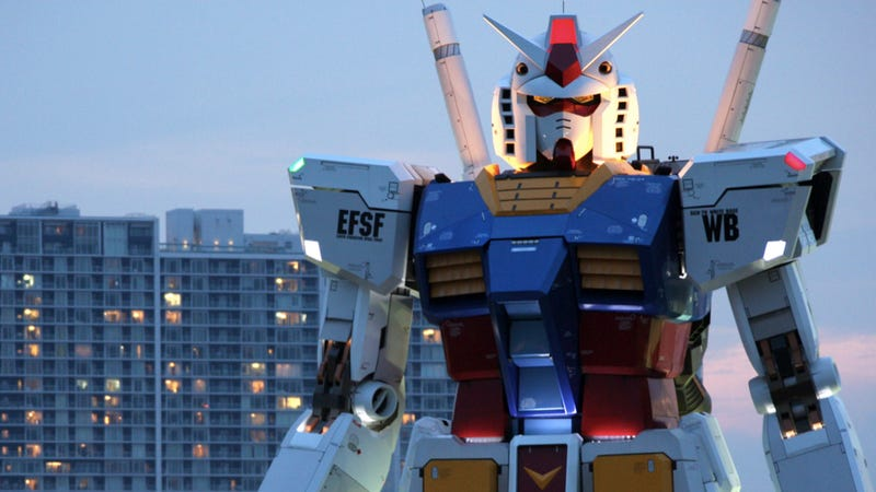 Giant, Life-Sized Gundam Is Returning!