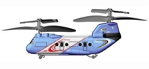 Tandem Z Chinook R/C Helicopter Has Two Rotors for Double the Crashes