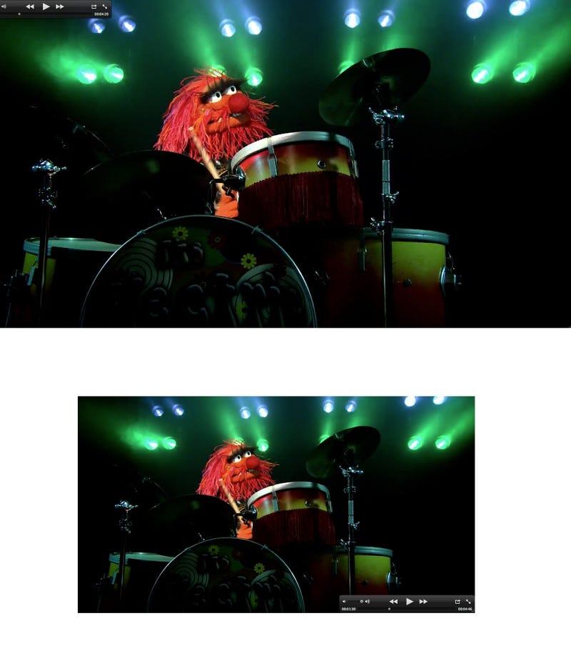 Muppets 1080p vs 720p Gallery