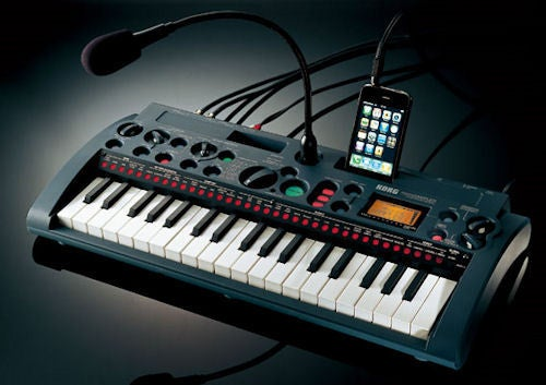 Korg microSAMPLER Ready to Rock Your iPhone Noodlings