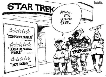 Why Is The Media Trying To Make Star Trek Fans Look Like Naysaying Dorks?