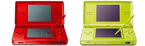 New DS Lite Colors Look Like Watermelon and Green Apple Jolly Ranchers