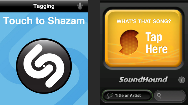 Shazam vs. SoundHound: Battle of the Mobile Song ID Services