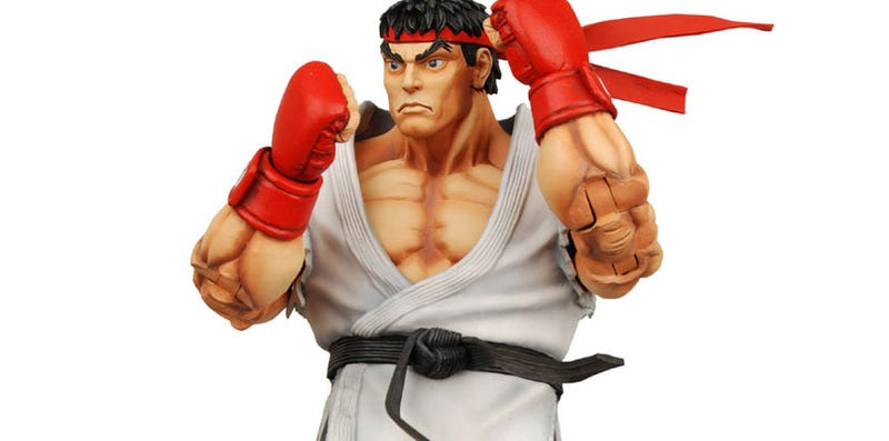 Street Fighter IV Figures Are Ugly, Yet Poseable