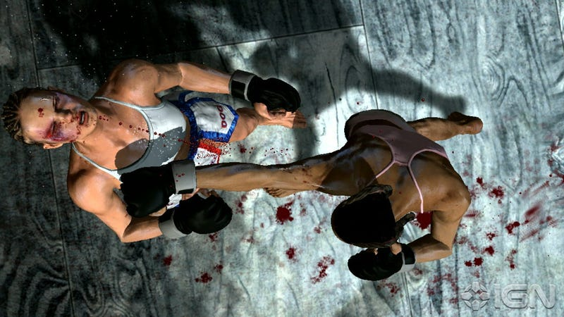 Underground MMA Game Adds Female Fighters to the Card