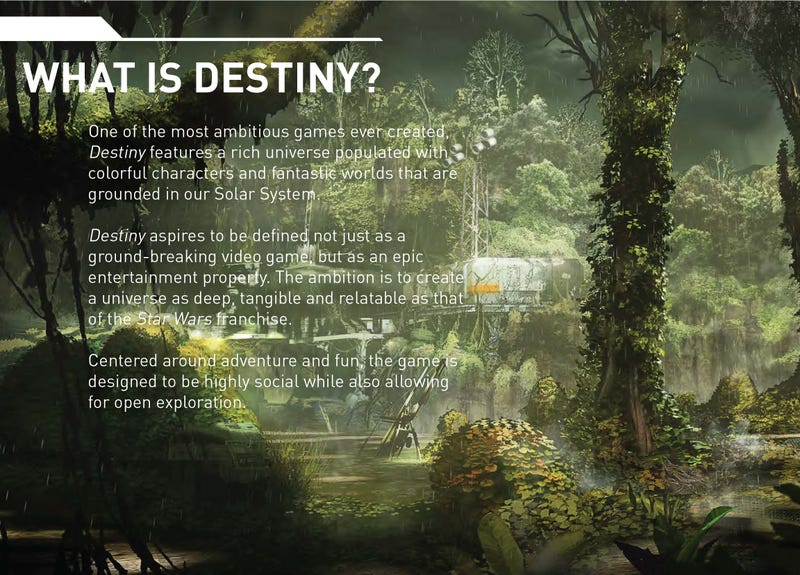 Story Details & Art Leak From Bungie's Next Game, the Sci-Fi Epic Destiny