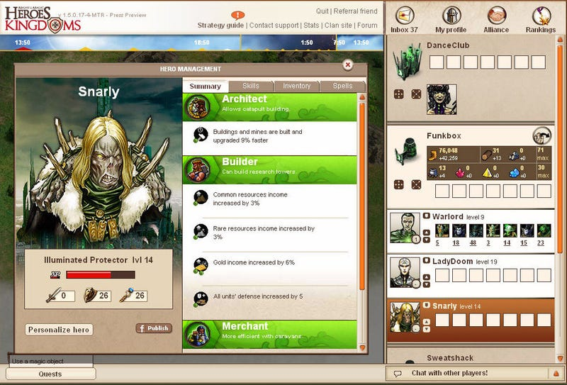 Might & Magic Heroes Kingdoms Opens For Business