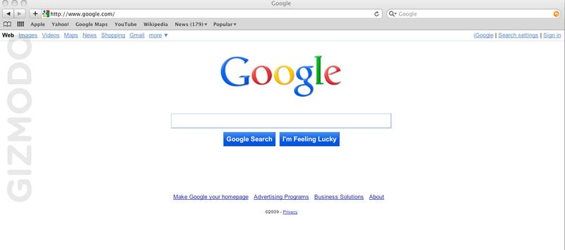 Google Search's New Interface Being Tested Now