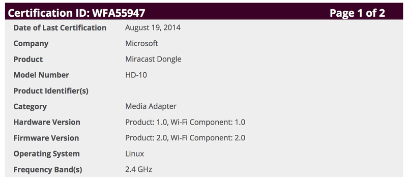 Microsoft May Take On Chromecast With Its Own Dongle Device