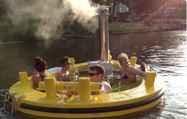 I Want to Ride in This Hot Tub Tug Boat
