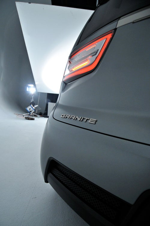 GMC Granite Concept: Detroit Auto Show Live Photos
