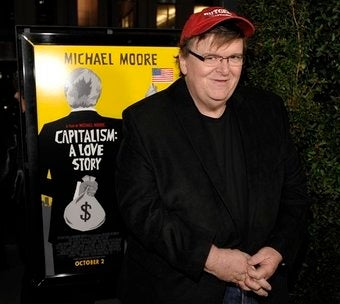Michael Moore in Self-Promotional War with CBS