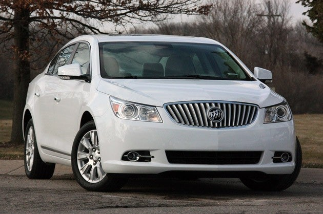 Quick Spin: 2012 Buick LaCrosse eAssist