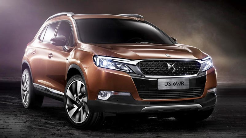 The DS 6WR Is Citroën's China-Bound SUV