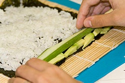 Roll your own maki sushi