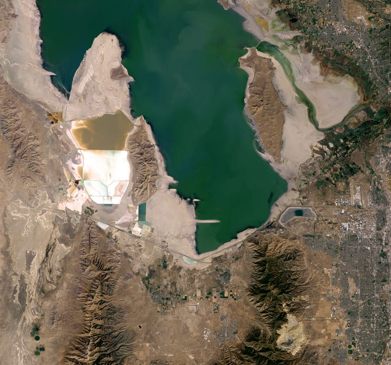 Utah's Great Salt Lake Is Shrinking at an Alarming Rate