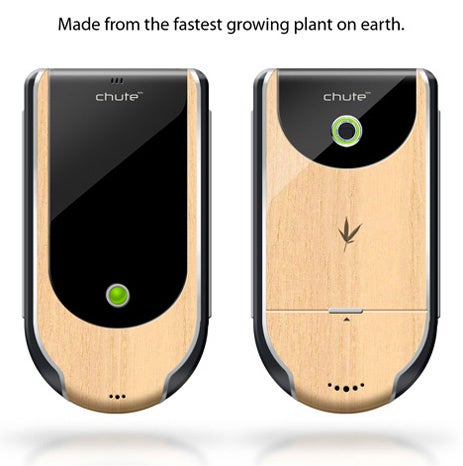 Chute Smartphone Concept Puts Wood in Your Pant Pockets