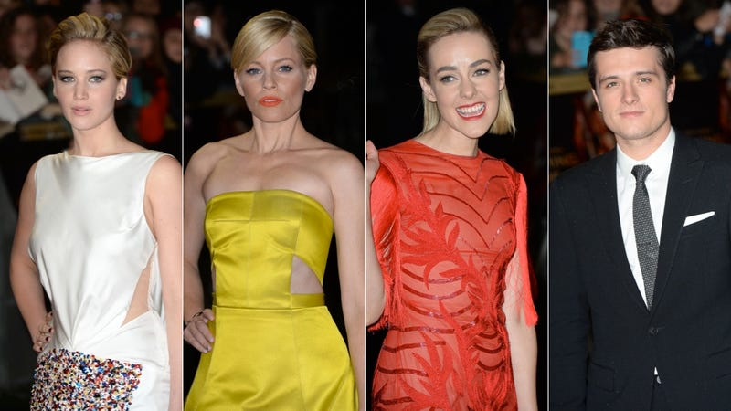 Bright Hues and Awkward Fringe at the Catching Fire UK Premiere