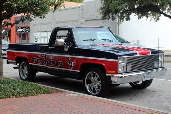 Cars From Around The NFL