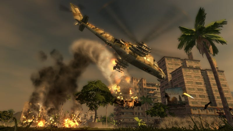 Mercenaries 2 Screens Still Blowin' Stuff Up