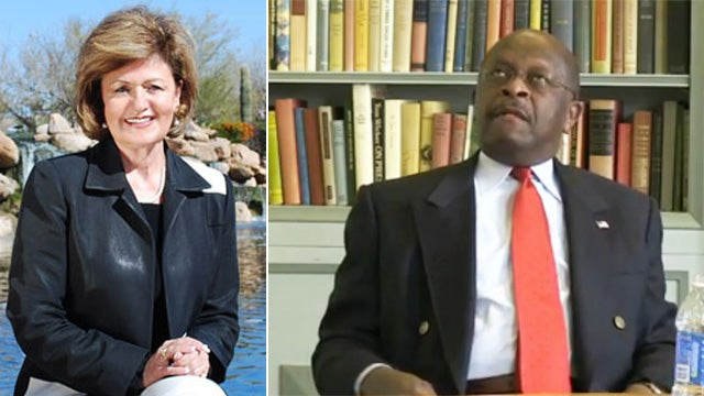 This One Crazy Arizona Lady, At Least, Is Standing by Herman Cain