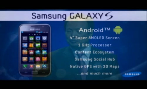 Samsung Galaxy S Smartphone Is the First Step In Samsung's Smart Life