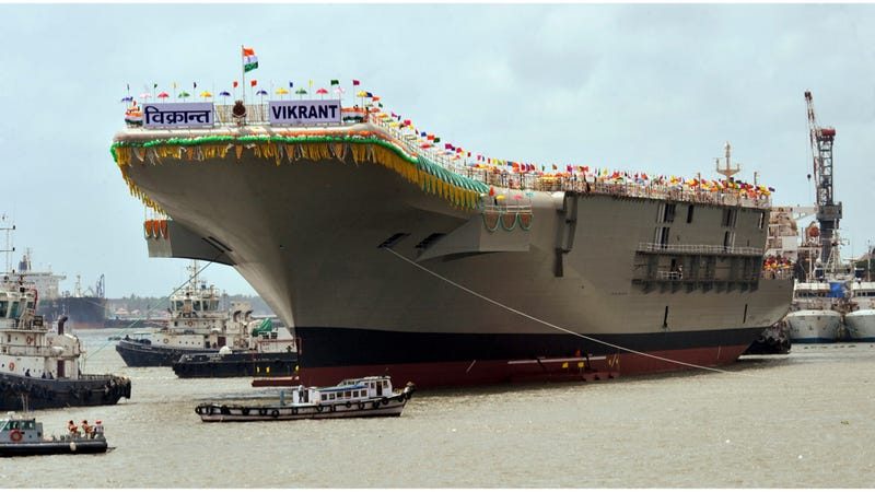 India's New Aircraft Carrier Looks Really Fun To Launch Off Of