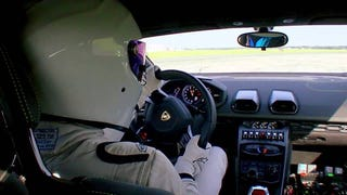 Take A Lap Of The <i>Top Gear </i>Test Track With The Stig In A Lamborghini