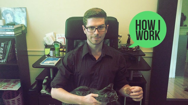 How We Work, 2015: Patrick Allan's Gear and Productivity Tips