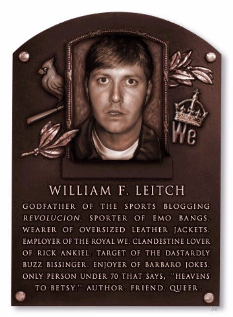 Part XI: Deadspin Hall Of Fame Inductee...Will Leitch