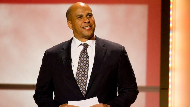 Cory Booker Is Just Like Us: He's on a Diet (Ugh)