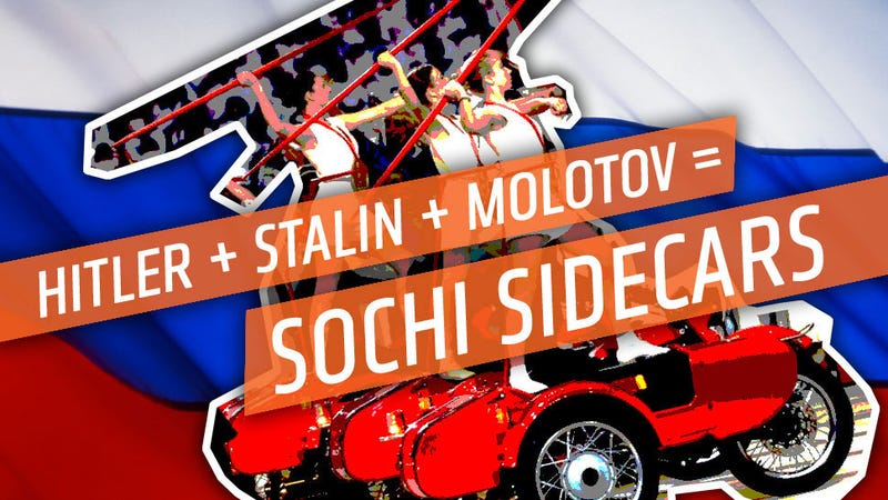 What Were Those Awesome Sidecars In The Sochi Olympic Opening Ceremony