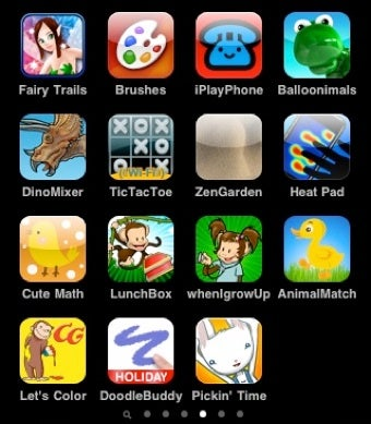 Great iPhone and iPod touch Games for Kids