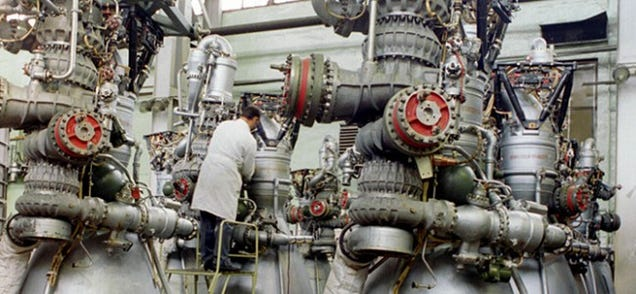 The Strange Soviet History of the Failed Antares' Engines