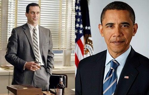 Barack Obama Is a Huge Mad Men Fan