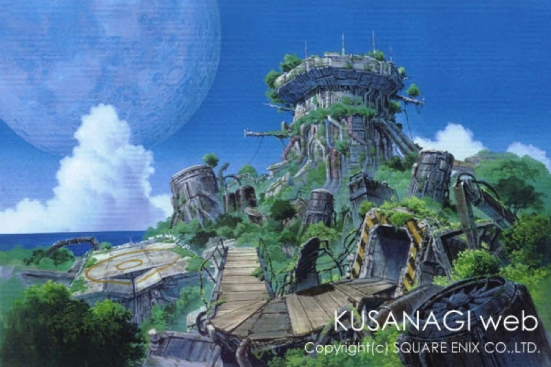 An Impressive Resume of Anime and Video Game Backgrounds