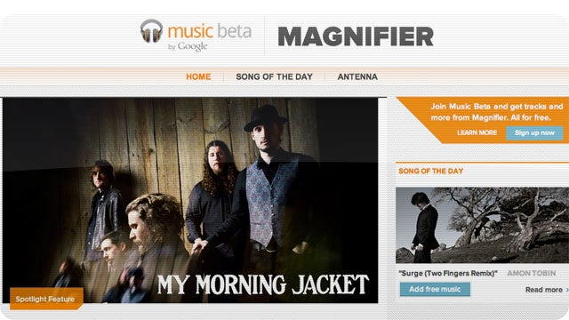 Discover New Music At Google's Magnifier Website