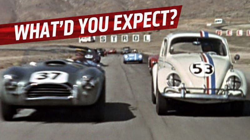 The Love Bug Is A Way Better Car Movie Than You Probably Remember