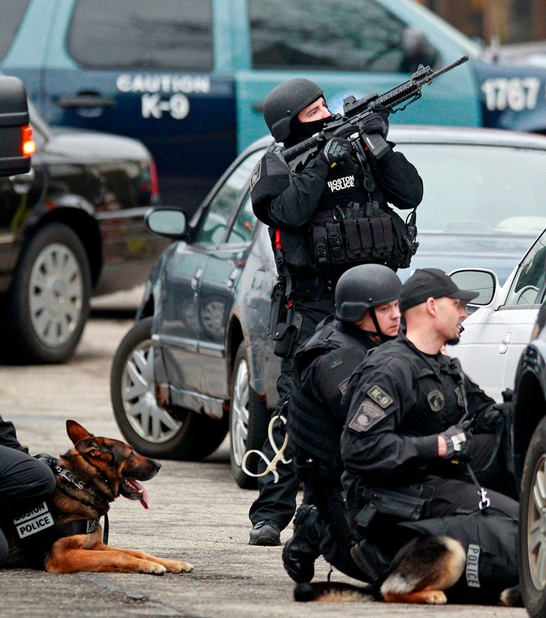 Scenes From The Watertown Manhunt